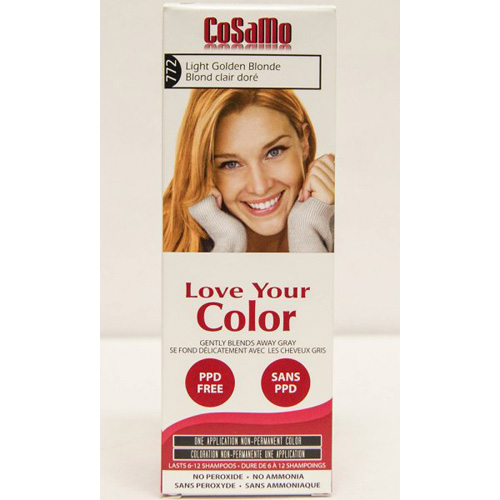 Love Your Color Hair Color - CoSaMo - Non Permanent - Lt Gold Blonde - 1 ct: HF