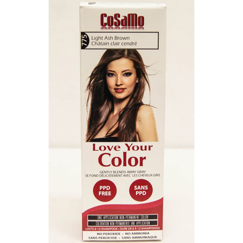 Love Your Color Hair Color - CoSaMo - Non Permanent - Lt Ash Brown - 1 ct: HF