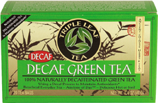 Tea,Decaf Green 20 Bag, case of 6: HF