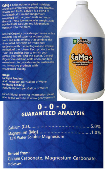 CaMg+ Calcium Magnesium Supplement 1 Gallon: HY