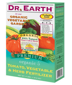 Dr Earth Tomato-Veg & Herb 4 lb: J