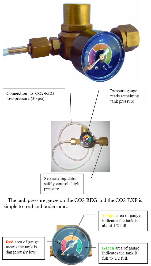 CO2-EXP CO2 Regulator Expansion: J