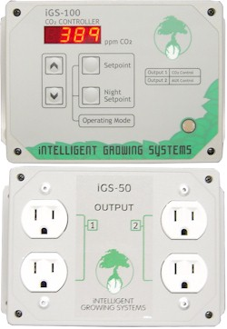 CO2 Control w Auxiliary Shut Off Output   iGS 100: J