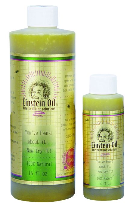 Einstein Oil All Natural Pesticide 4 fl oz: J