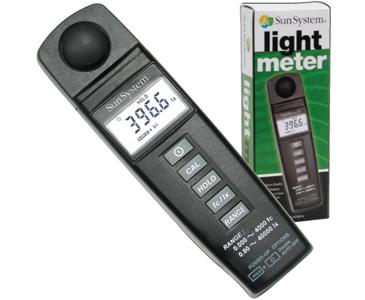 Sun System Digital Light Meter: J