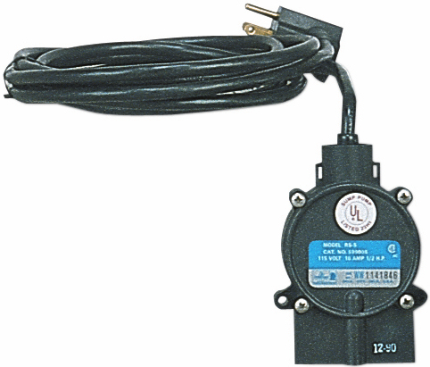 Piggyback Diaphragm Switch for Basin Level On/Off: J