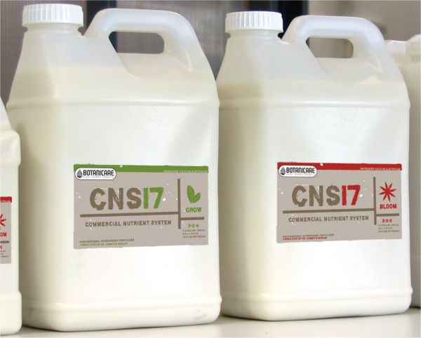 CNS17 (Complete Nutrient System) Grow 3-2-4, 2.5 Gallons: J