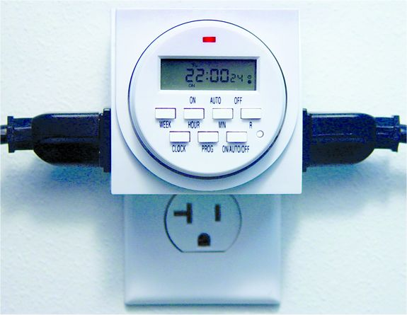 Eco Plus Digital Plug-In Timer: J