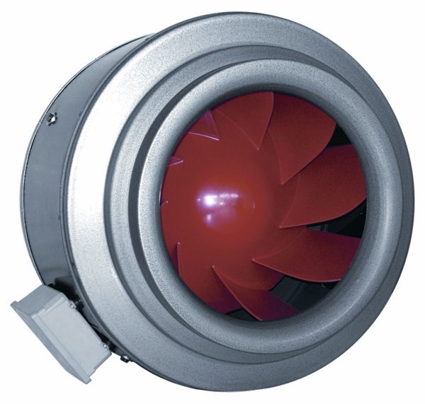 Fan: 16'' Vortex Inline Duct Blower: 4515 CFM (V 16XL): J