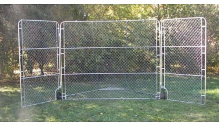 Portable Backstop with Side Panels: SP