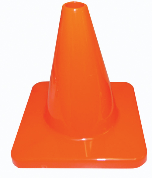 6'' Traffic Cone - Green: SP