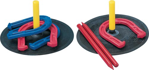Indoor/Outdoor Horseshoe Set: SP