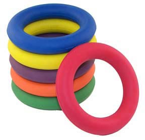 Set of 6 Deck Tennis Rings: SP