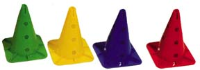 12'' Hurdle Cones - Set of 4: SP