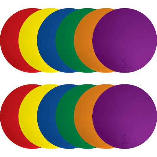 5'' Poly Spots - 2 ea. Color: SP