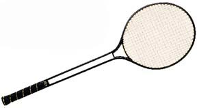 Twin Shaft Aluminum Badminton Racquet: SP