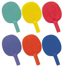 Economy 6-Color Table Tennis Paddle Set: SP