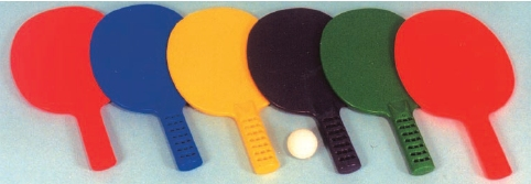 Pick-A-Paddle Table Tennis Paddles Set: SP