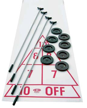 Set of 8 Shuffleboard Discs: SP