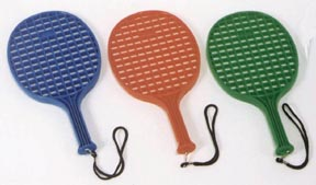 Star Molded Paddle - Green: SP