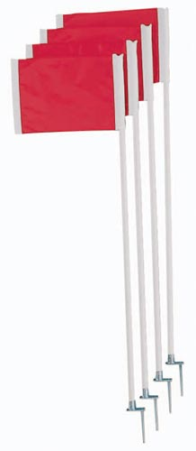 Official Corner Flags w/ Springs: SP