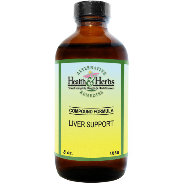 Liver Support Non-Alcoholic Extract 8 fl oz: HH