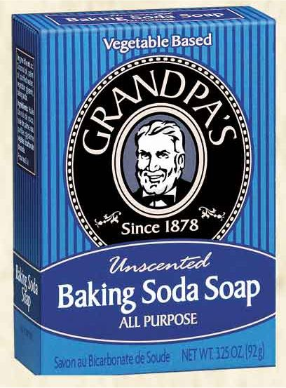Baking Soda Bar Soap 3 oz: K
