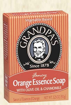 Fancy Orange Essence Bar Soap 3.25 oz: K