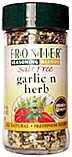 Garlic N Herb Salt-Free Seasoning 1.68 oz: K