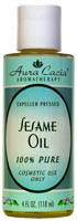 Sesame Pure Carrier Oil 4 oz: K