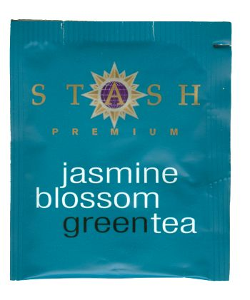 Jasmine Blossom Green Tea, Box of 20 foil wrap tea bags: K