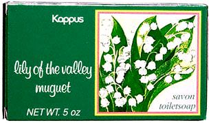 Lily of the Valley, Boxed Specialty Soap 5 oz: K