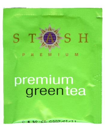 Premium Green Tea, Box of 20 foil wrap tea bags: K