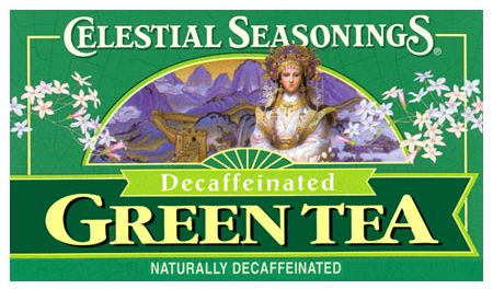 Decaffeinated Green Tea 20 tea bags: K