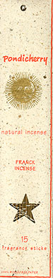 Frankincense Natural Incense 15 sticks: K