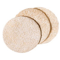Loofah Complexion Pads 3-count: K
