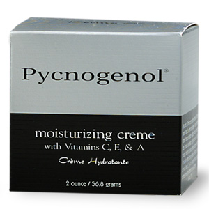Pycnogenol Moisturizing Cr with Vitamins C, E & A 2 oz: K