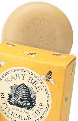 Baby Bee Buttermilk Soap for Sensitive Skin 3.5 oz: K