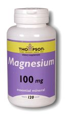 Magnesium 100 mg 120 tablets: K