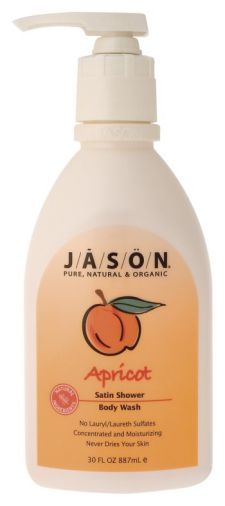 Apricot Satin Shower Body Wash & Bubble Bath 30 fl oz: K