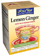 Lemon Ginger Green Tea Cert. Organic Tea 16 teabags: K