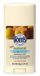 Natural Long-Lasting Deodorant Stick Apricot 2.25 oz: K