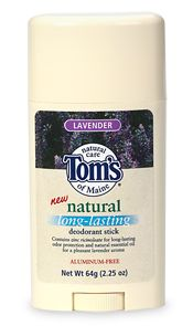 Natural Long-Lasting Deodorant Stick Lavender 2.25 oz: K