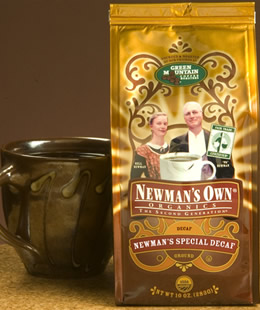 Newman's Special Decaf SWP 10 oz Whole Bean: K