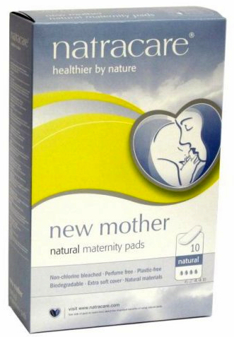 New Mother Natural Maternity Pads 10 count: K