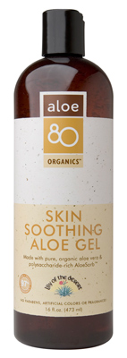 Skin Soothing Aloe Gel 16 fl oz: K