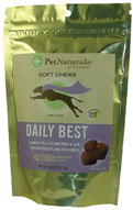 Daily Best Canine Soft Chews 45 count: K