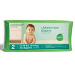 Baby Diapers Stage 2 (12-18 lbs.) 40 count Chlorine-Free: K
