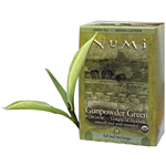 Gunpowder Green Organic Tea 18 tea bags: K