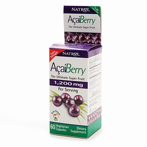 Acai Berry 1.200 mg 60 vegetarian capsules: K